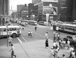 Detroit in the 1940s