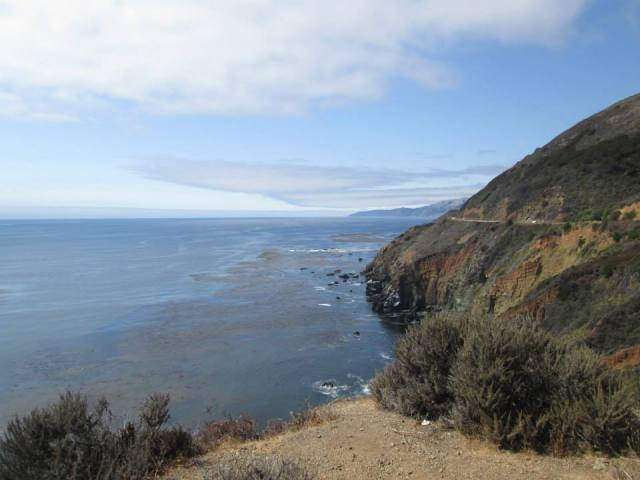 scenic view, Big Sur