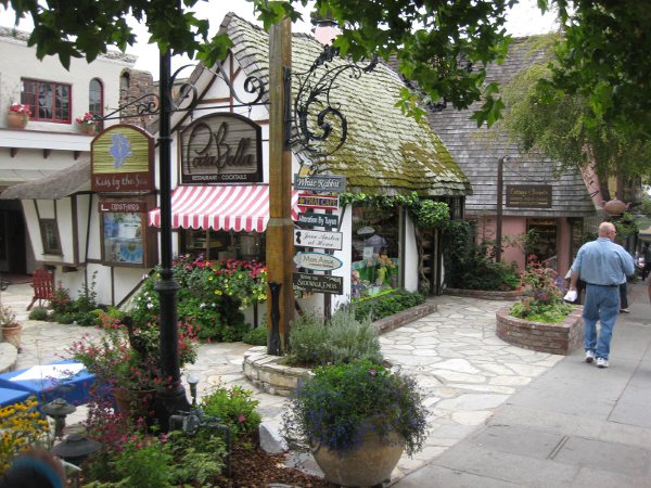 google photo of downtown Carmel, cause I didn't take any