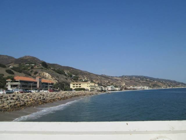 Malibu from the pier