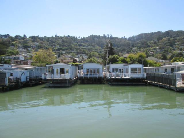 Unique homes in Sausalito