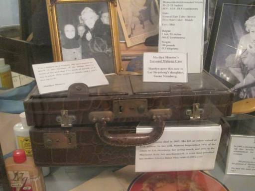 Marilyn Monroe's original makeup case