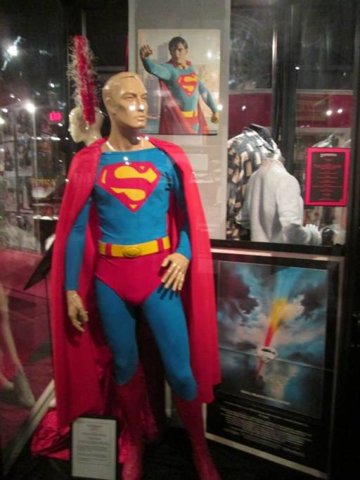 The Christopher Reeves superman costume