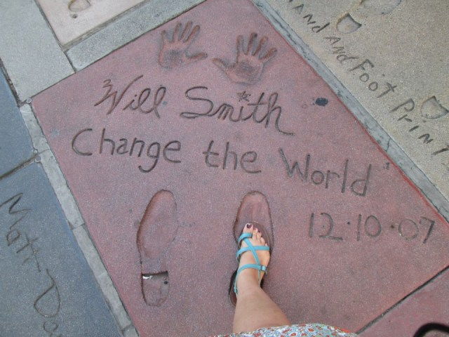 Will Smith's HUGE footprint