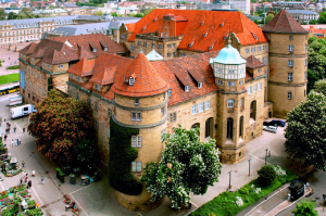 Old castle in Stuttgart